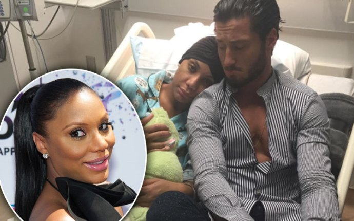 braxton tamar leaves DWTS medical crisis