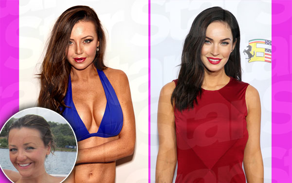 holly durst bachelor plastic surgery megan fox