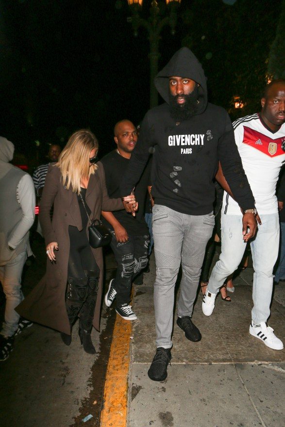 *PREMIUM EXCLUSIVE* **NO AUSTRALIA, NO NEW ZEALAND** Khloe Kardashian and James Harden have a Date Night **MUST CALL FOR PRICING**