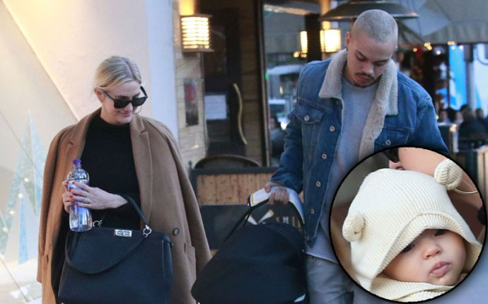 ashlee simpson evan ross jagger lunch