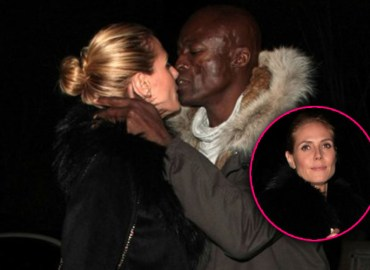 Heidi klum photos kissing seal cheating vito schnaebel