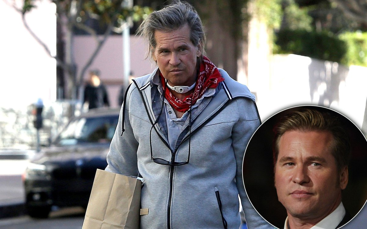 health crisis  val kilmer spotted with tracheostomy tube