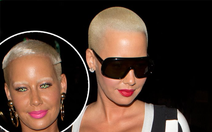kanye west amber rose twitter feud club dress pics