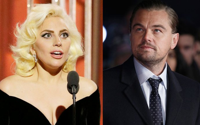 leonardo dicaprio feud laday gaga forced work together agent