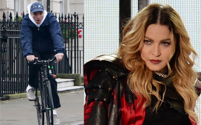 Rocco ritchie photos bike riding london custody dispute with madonna pp