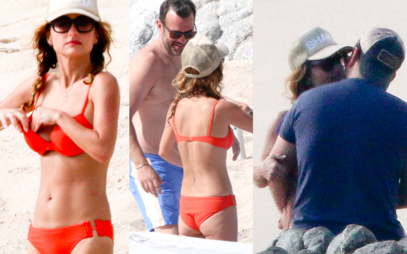 Giada De Laurentiis Bikini Boyfriend Shirtless Mexico