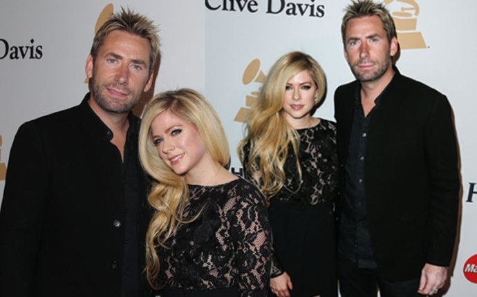 Avril Lavigne Chad Kroeger Divorce Reunite Grammy Gala Ryan Cabrera Mystery Girl