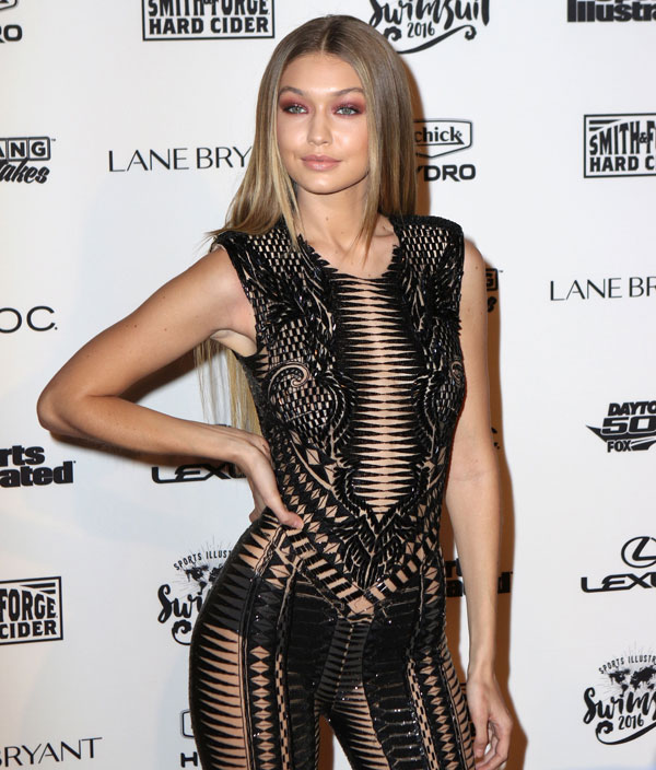 Camille Kostek Runway: Gigi Hadid Bares Her Best Assets In A Nearly-Nude Sheer