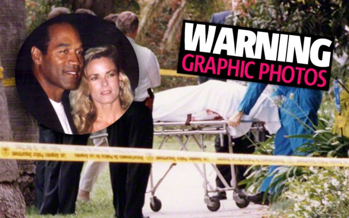 O.J. Simpson Trial    Crime Scene Photos