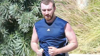 sam smith weight loss running fitness pics