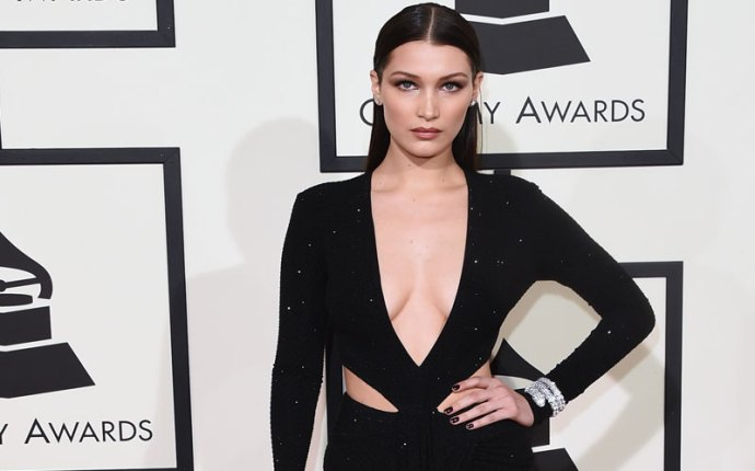 the weeknd bella hadid dating grammys red carpet 2016