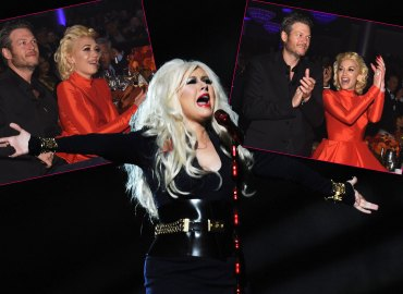 christina aguilera furious gwen stefani blake shelton the voice
