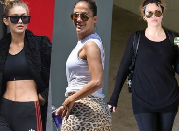 Celebrity Workout bodies exercise gear