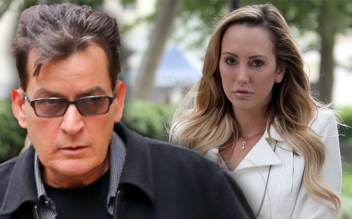 charlie sheen felony investigation brett rossi abuse claims restraining order