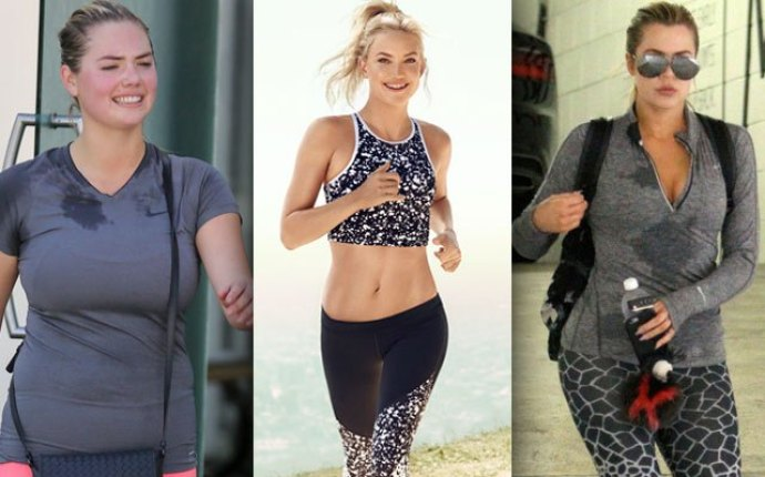 Fabletics celebrity exercise sweat
