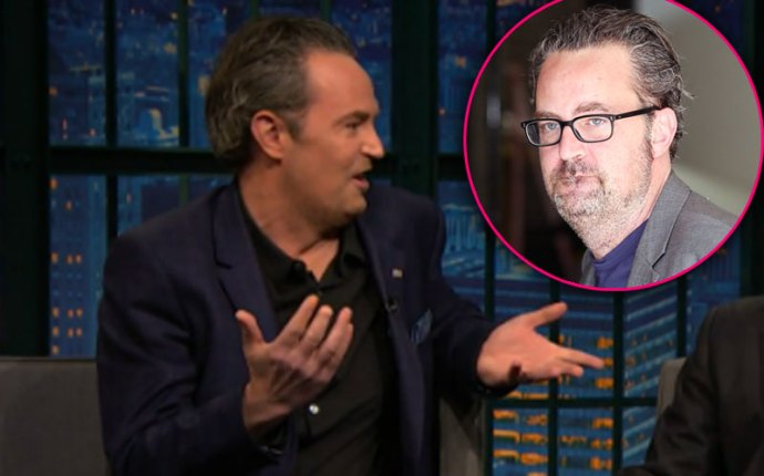 Matthew Perry Drunk Slurring Late Night Show
