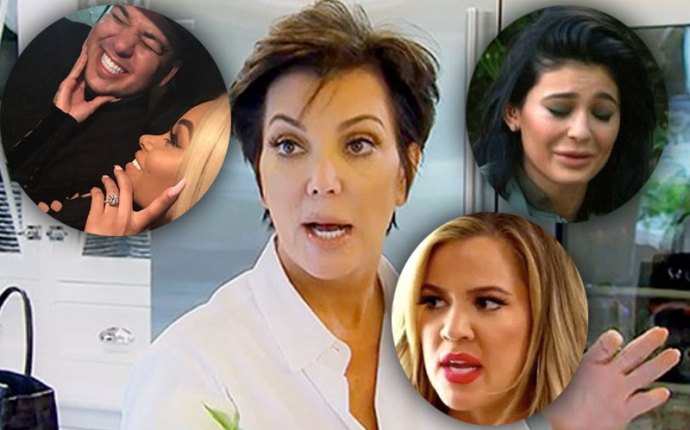Rob kardashian engaged blac chyn family reactions09