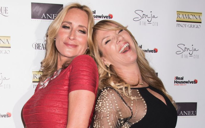 Sonja Morgan Ramona Singer RHON Fight Video