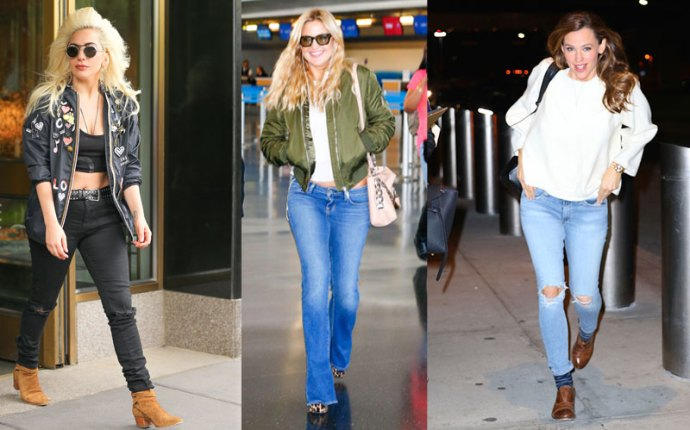 Celebs Rock Denim Spring pp 4
