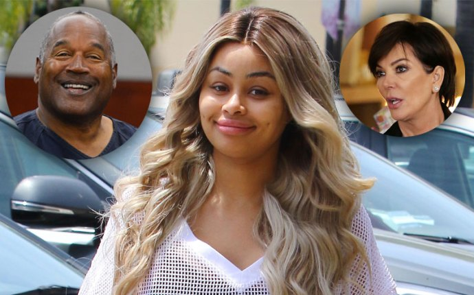 Blac chyna voices support oj simpson 04