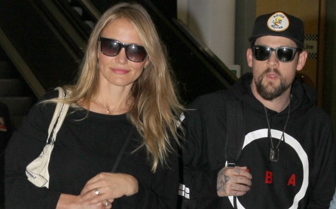 cameron diaz surprised married benji madden
