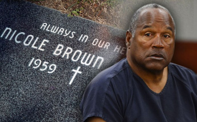 Oj simpson murder nicole brown simpson graveside apology star