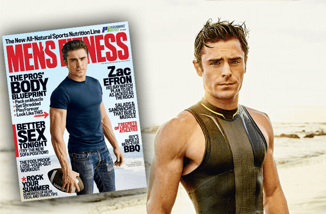 Zac efron mens fitness shoot STAR