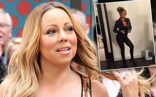 Mariah Carey Weight Loss Photoshop Fail Instagram Pics 1