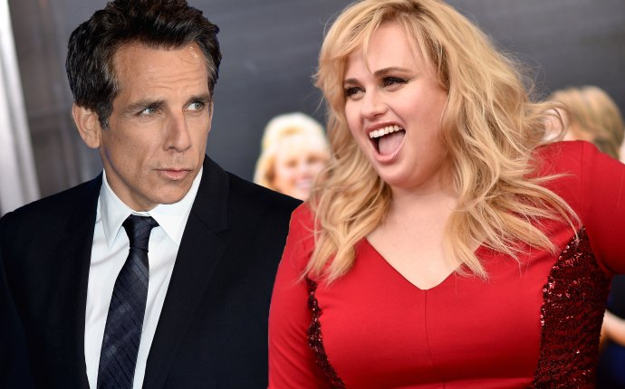 rebel wilson ben stiller kiss