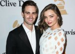 Evan spiegel engaged miranda kerr