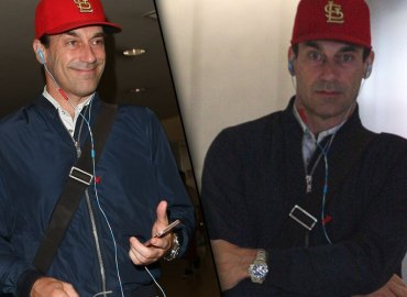 Jon Hamm Booze Relapse Rehab LAX Video