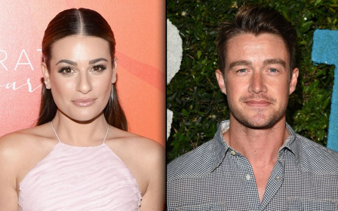 lea michele breakup single robert buckley