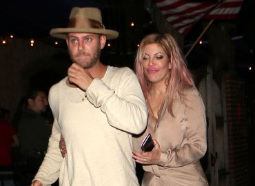 Tori spelling partying mystery man
