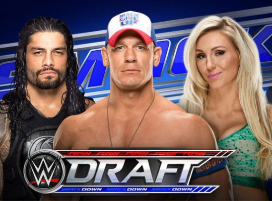 Wwe draft airing live on smckdown tonight tune in pp