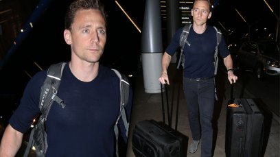 Tom Hiddleston Taylor Swift Dating Breakup Rumors Leaving LA Pics 8