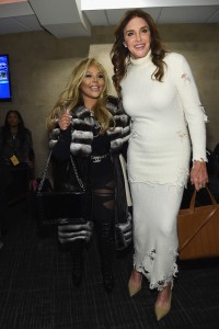 NEW YORK, NY - FEBRUARY 11: Lil' Kim and Caitlyn Jenner attend Kanye West Yeezy Season 3 on February 11, 2016 in New York City. (Photo by Jamie McCarthy/Getty Images for Yeezy Season 3)