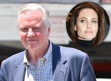 Angelina jolie divorcing brad pitt jon voight statement