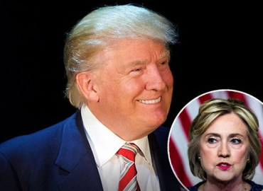 Donald trump polls hillary clinton star