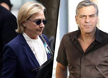 Hillary Clinton Collapse Strokes George Clooney Video