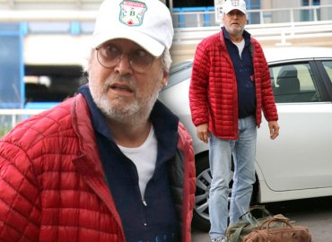 Chevy Chase Rehab Spotted First Time Angry Temper Airport Video