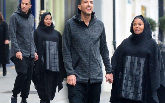 Janet Jackson Pregnant Wissam Al Mana Islamic Dress Pics 1