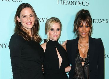 Jennifer garner reese witherspoon halle berry tiffany co event beverly hills
