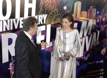 Natalie portman freak out red carpet israel film festival