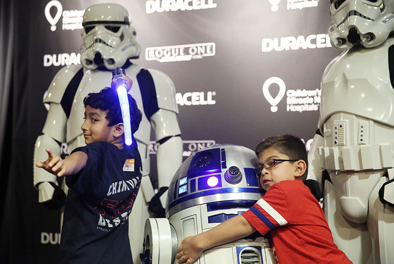 Duracell Powers Imaginations with Star Wars and Children's Mirac