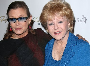 Carrie fisher debbie reynolds dead double memorial service funeral