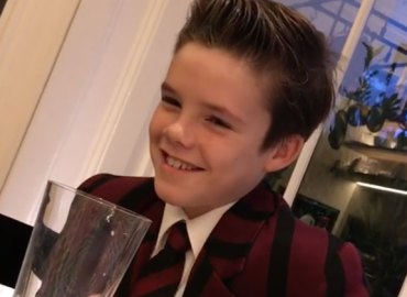 Cruz beckham first music single christmas charity