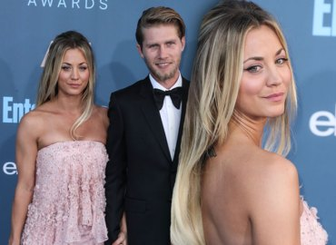 Kaley Cuoco Boyfriend Karl Cook Red Carpet Video