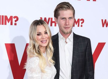 Kaley cuoco says boyfriend karl cook prefect red carpet