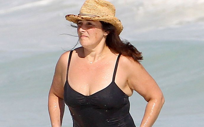 Ricki lake swimsuit body weight gain cancun