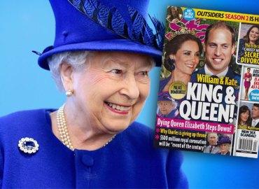 Prince William Kate Middleton King Queen Ceremony Queen Elizabeth Sick